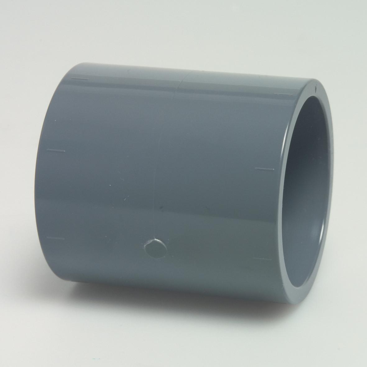 Mufa egala din PVC 50 mm