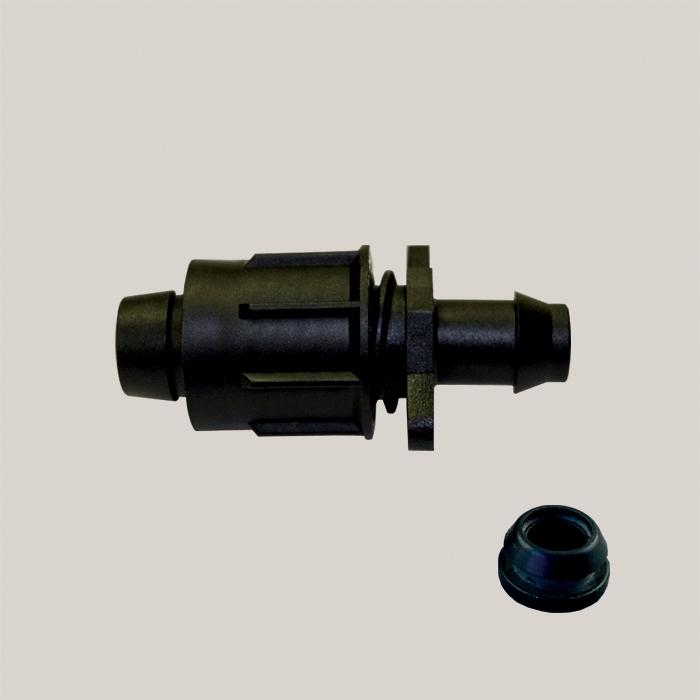 Conector simplu pentru banda de picurare 17 mm Aquafix