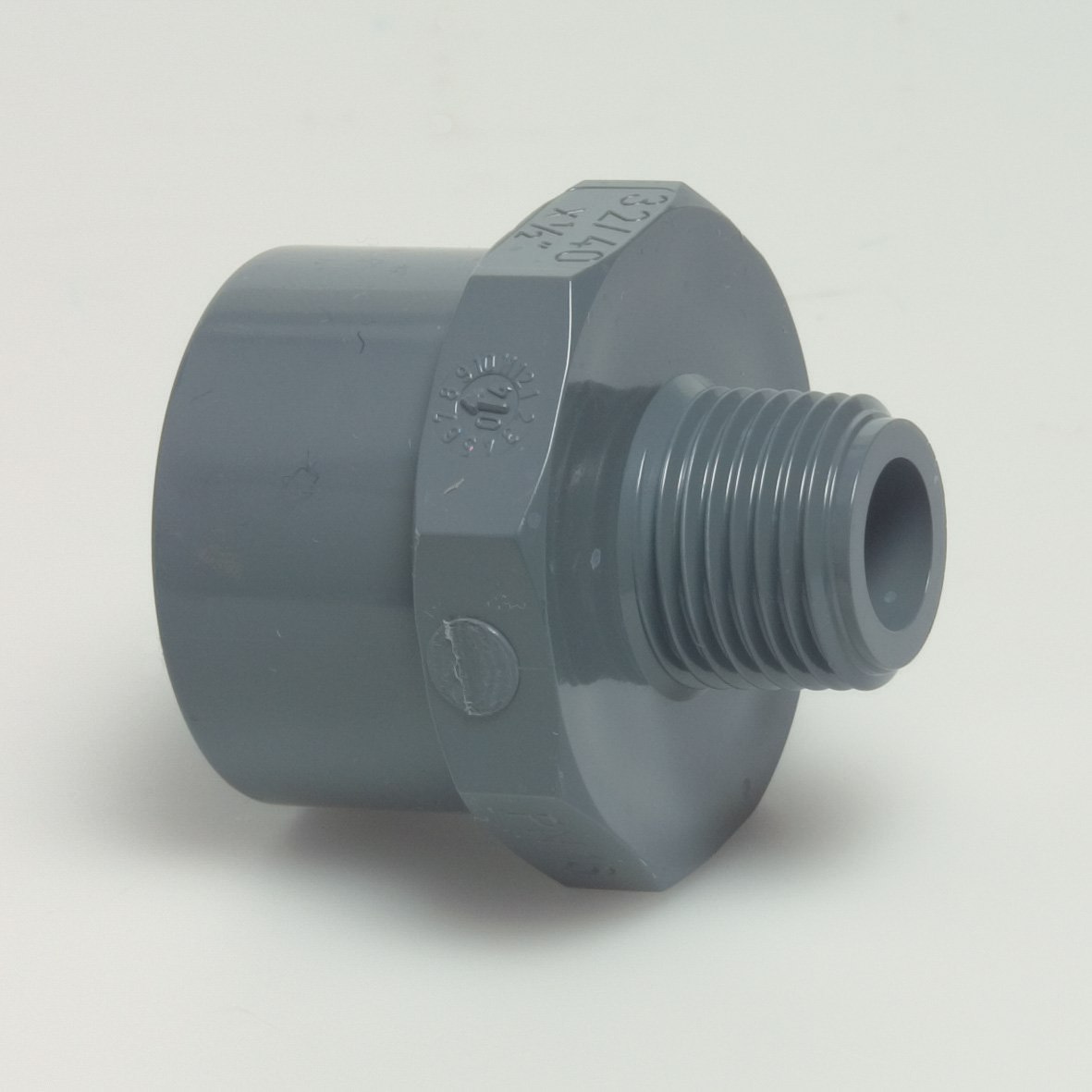 "Adaptor din PVC cu FE 20/25 mm x 1/2"""