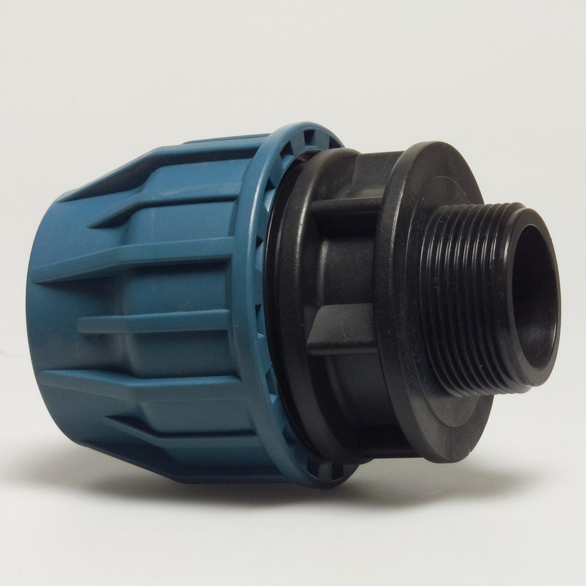 """Adaptor compresiune cu F. E. PN10 20 mm x 1/2"""""""