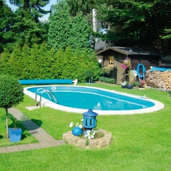 Set piscina ovala 21 m³