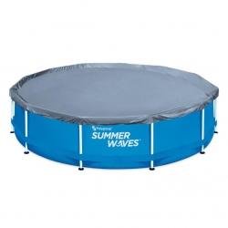 Prelata pentru piscina cu cadru metalic 366cm
