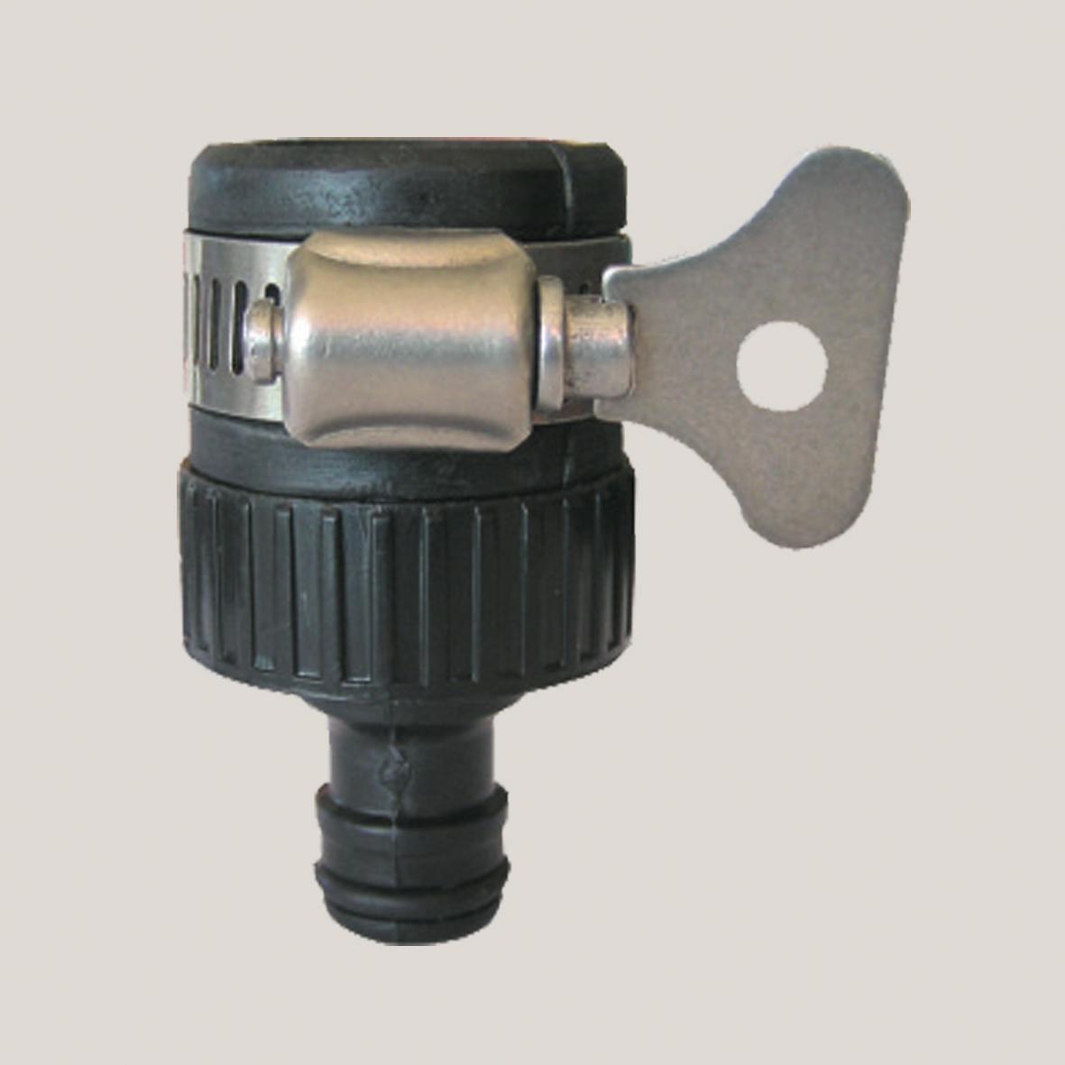 """Adaptor cu colier pentru cupla rapida - plastic 1"""" x 3/4"""""""