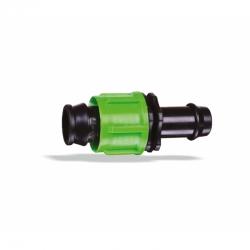 Conector simplu pentru bandă de picurare 17 mm fără garnitura SimpleFit