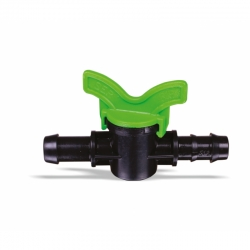 Robinet pentru tub de picurare fără garnitură 16 mm SimpleFit