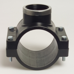 "Piesa de bransare cu inel PN10 75 mm x 1/2"""