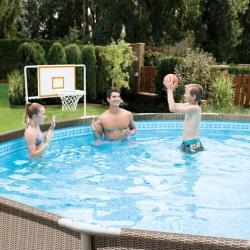 Kit baschet Summer Waves pentru piscine cu cadru metalic