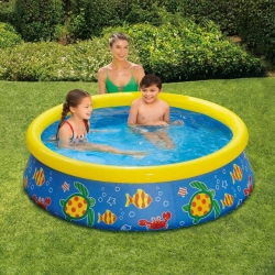 Piscina cu inel gonflabil Summer Waves Quick Set 152x38cm