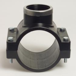 "Piesa de bransare cu inel PN10 63 mm x 1 1/2"""